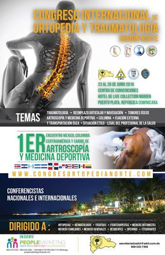 Congreso Internacional de Ortopedia y Traumatología Regional Norte